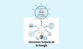 Estructura Tarifaría de la energía