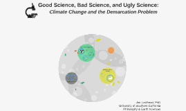 Good Science, Bad Science, and Ugly Science: Climate Change