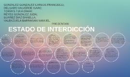 Copy of ESTADO DE INTERDICCIÓN