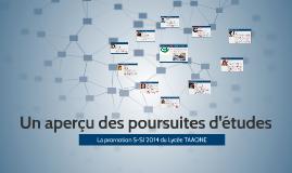 Sciences de l'Ingénieur - Promotion 2014