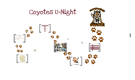Coyotes U-Night