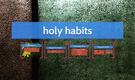 Holy Habits-SV