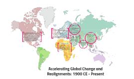 Global Change: 1900 CE - Present