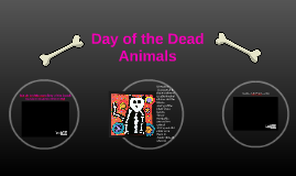 Day of the Dead Animals