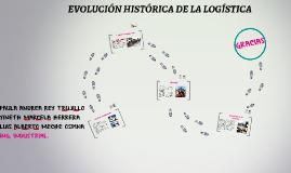 EVOLUCION HISTORICA DE LA LOGISTICA