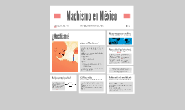 Machismo en México