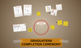 CLOSING/COMPLETION CEREMONY Matters