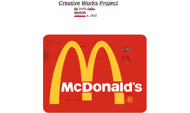 Creative Works Projects