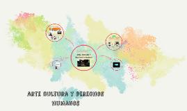 arte, cultura y derechos humanos