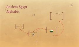 Copy of Ancient Egypt Alphabet
