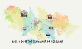 RIOS Y PUERTOS FLUVIALES DE COLOMBIA