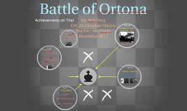 Copy of Battle of Ortona