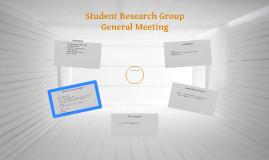 SRG meeting