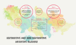 Copy of Restrictive and non-restrictive adjective clauses