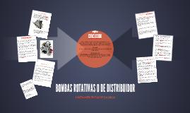 BOMBAS ROTATIVAS O DE DISTRIBUIDOR
