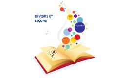 Copy of Ateliers devoirs et leçons