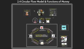2.4 Circular Flow Model & Functions of Money