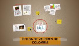 BOLSA DE VALORES DE COLOMBIA