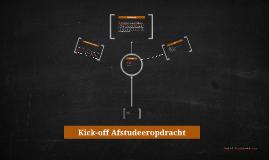 Kick-off Afstudeeropdracht