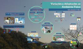 Copy of Variações e Adaptações ao Ambiente Físico