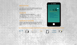 Mobile Application Development Research