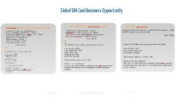 Global SIM Business Plan for ahmet