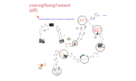 The e-Learning Planning Framework