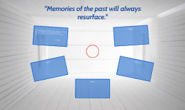 """""""Memories of the past will always resurface."""""""