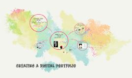 Creating a digital portfolio