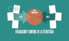 EVALUACIÓN Y CONTROL DE LA ESTRATEGIA