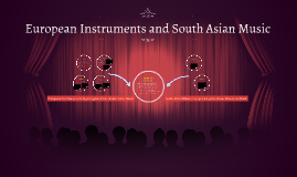 European Instruments and South Asian Music
