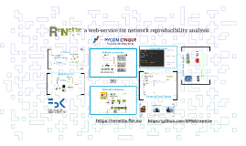 a web-service for network reproducibility analysis