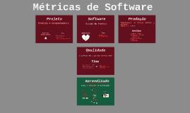 Métricas de Software (Aprendizado sobre o Produto)