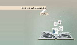 Redacción de materiales para cursos en línea