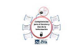 Competencias para el acceso y uso de la información