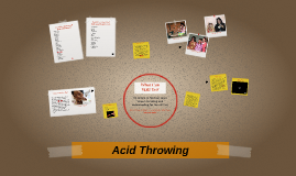 Acid Throwing