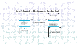 Egypt's Control of The Economy; Good or Bad?