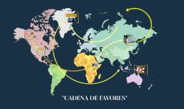"""CADENA DE FAVORES"