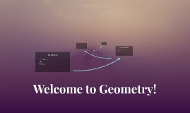 Welcome to Geometry!