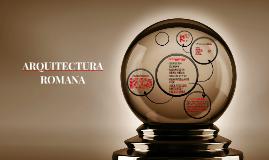 ARQUITECTURA ROMANA EDAD MEDIA