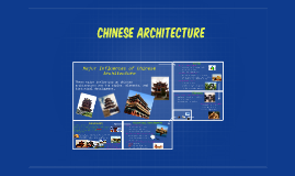 Major Influences of Chinese Architecture