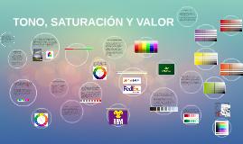 TONO, SATURACIÓN Y VALOR