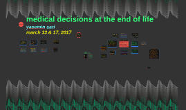 end-of-life decisions