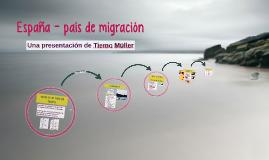España - país de migración
