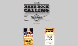 HARD ROCK CALLING. FLYER