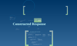 Copy of Constructed Response