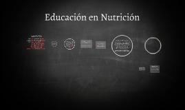 CATEDRA EDUCACION EN NUTRICION