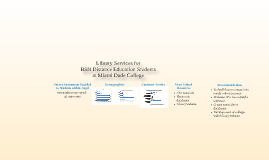 Library Services for BSN Distance Education Students