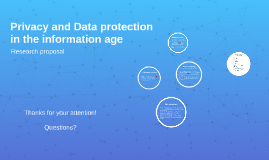 20150424 Privacy and data protection