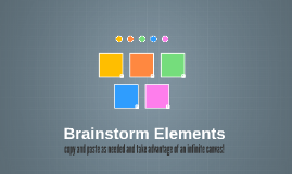 Kopie von Brainstorm Elements